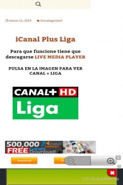 Imagen de iGOL TV - iCanal+ Liga