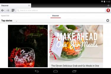 Imagen de Navegador Opera para Android