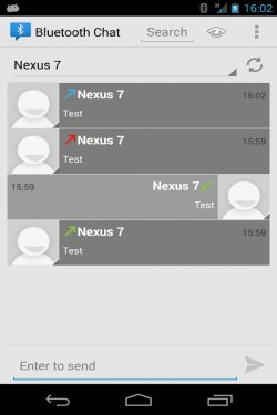 Imagen de Bluetooth Chat