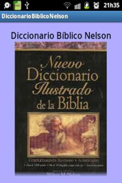 Imagen de Diccionario Bíblico Nelson