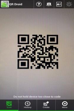 Imagen de QR Droid™ (Español)