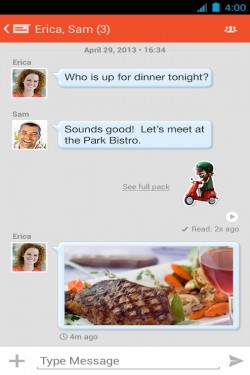 Imagen de Tango: Texto y Videollamadas