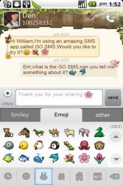 Imagen de GO SMS Pro Emoji Plugin