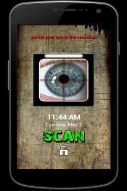 Imagen de Eye Scanner Lock Free