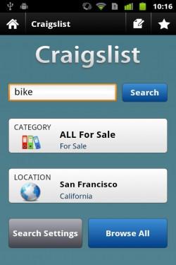 Imagen de Craigslist Mobile