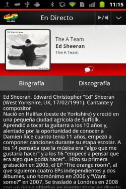 Imagen de Los 40 para Android
