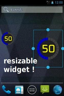 Imagen de Battery Solo Widget