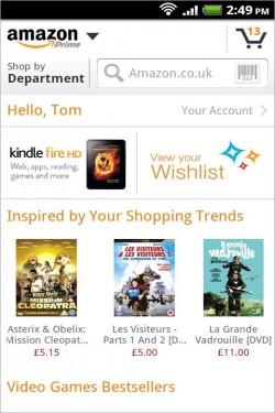 Imagen de Amazon Móvil para Android