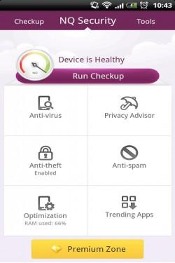 Imagen de NQ Mobile Security&Antivirus;