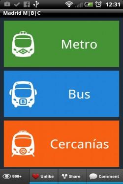 Imagen de new Madrid Metro Bus Cercanias