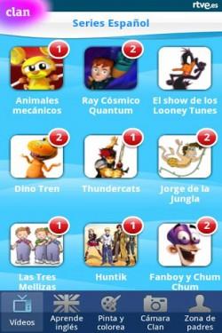 Imagen de Clan en RTVE.es