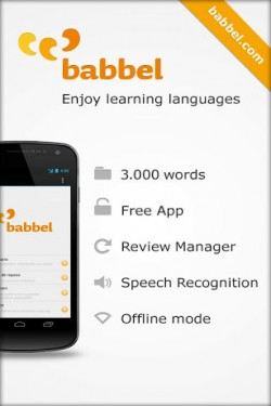 Imagen de Aprender inglés con babbel.com