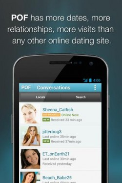 Opiniones sobre POF Free Online Dating