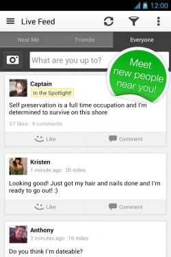 Imágenes de MeetMe: Conoce nuevas personas 7 0 7 para Android