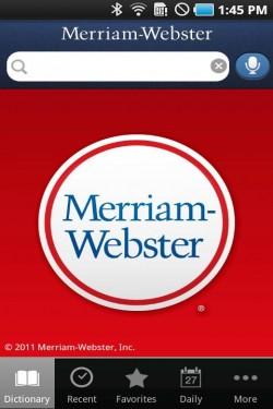 Imagen de Diccionario Merriam-Webster