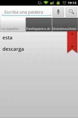 Imagen de Diccionario Español RAE