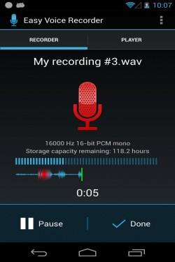 Imagen de Grabadora Easy Voice Recorder