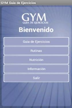 Imagen de Gym: Guia de Ejercicios