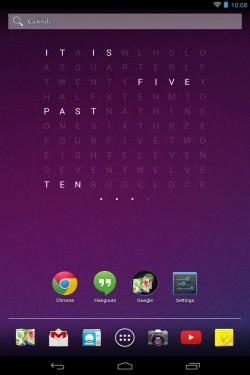 Imagen de Holo Text Clock