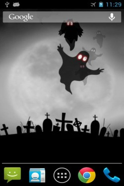 Imagen de Halloween fantasma fondo