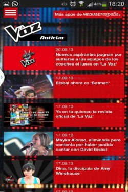 Imagen de La Voz Telecinco