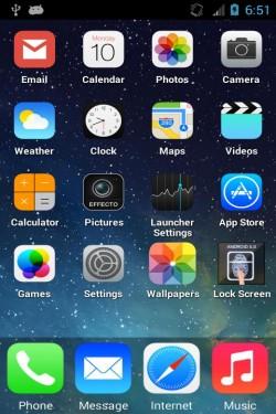 Imagen de iPhone 5S Launcher Theme