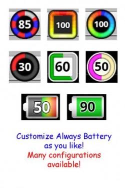 Imagen de cambiar el icono de batería