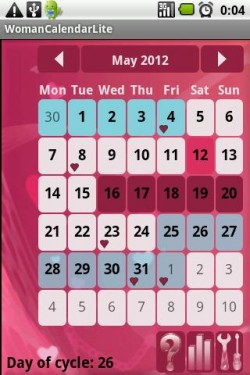 Imagen de Calendario de la Mujer