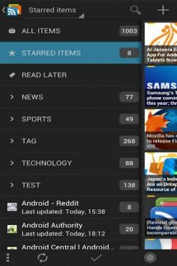 Imagen de gReader Pro (Google Reader)