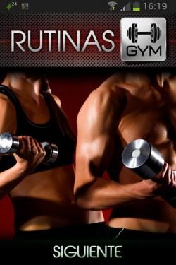 Imagen de Rutinas Ejercicios para el Gym