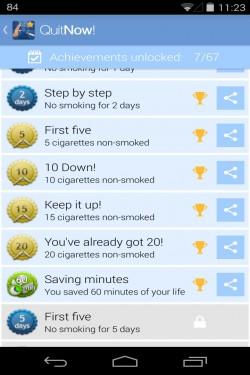 Imagen de Dejar de fumar - QuitNow!