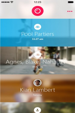 Imagen de Skype Qik: Mensajería de video grupal