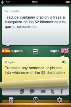 Imagen de Traductor iHandy Pro