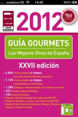 Imagen de Guía Vinos Gourmets 2012
