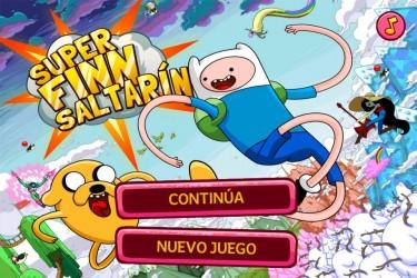 Imagen de Hora de aventuras: Super Finn el saltarín