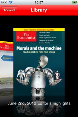 Imagen de The Economist on iPhone (Europe)