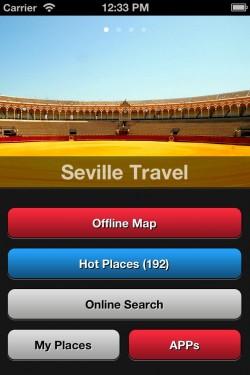 Imagen de Seville Travel Map