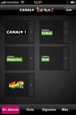 Imagen de Canal+ Yomvi para iPhone