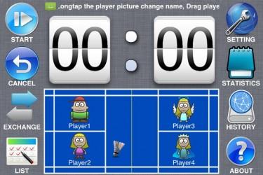 Imagen de Badminton - Scoreboard
