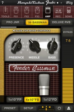 Imagen de AmpliTube Fender