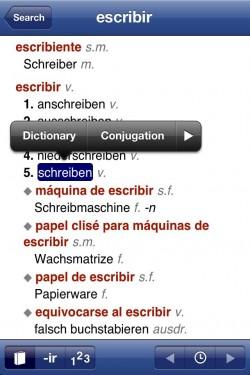 Imagen de Diccionario español - alemán y verbos
