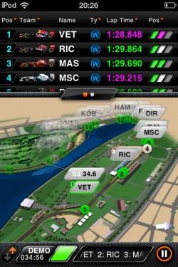 Imagen de F1 2012 Timing App CP