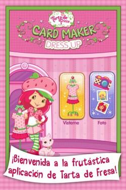 Imagen de Tarta de fresa - Card Maker Dress-Up