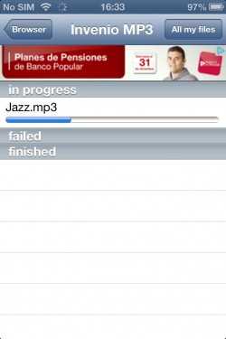 Imagen de Invenio MP3 Music Downloader