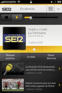 Imagen de Cadena SER para iPhone