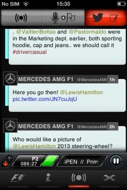 Imagen de F1 2013 Timing App