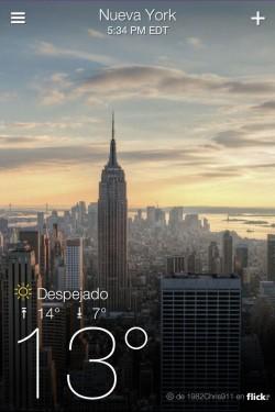 Imagen de Yahoo! Tiempo