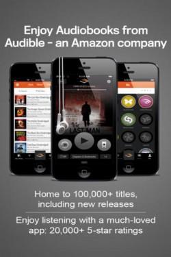 Imagen de Audiolibros de Audible