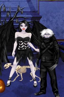 Imagen de Juego de Halloween -  Vestuario y maquillaje especial Halloween